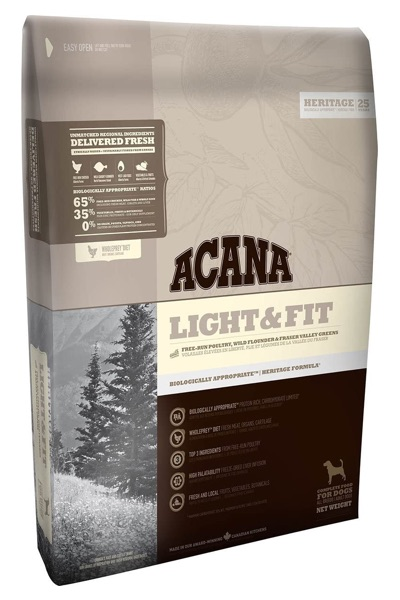 ACANA ADULT LIGHT & FIT - Pienso para Perros adultos de raza mediana